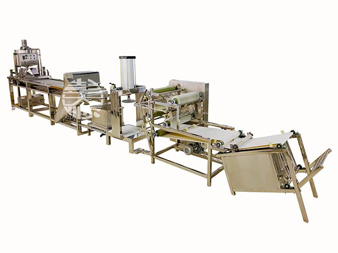 彭大顺豆腐皮生产线效率高的原因是什么?