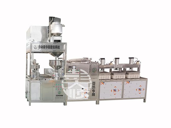 买套豆制品设备做豆制品生意创业