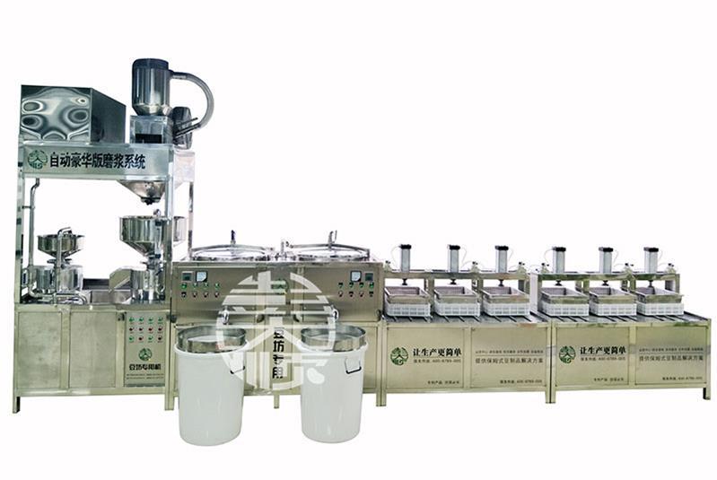 彭大顺做豆制品的机器