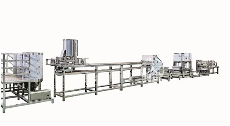 全自动豆制品设备自动化控制,大大节省了劳动力