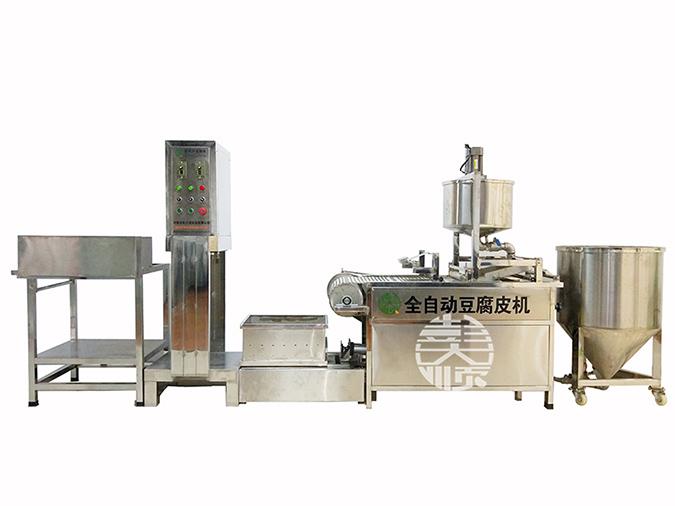 做豆制品的机器